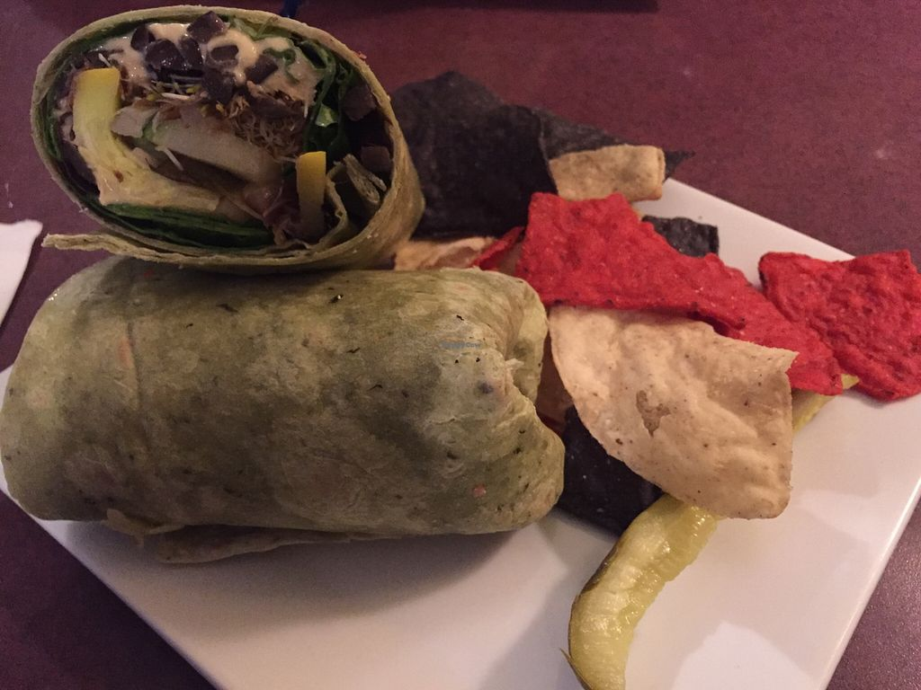 Photo of Ambition Coffee & Eatery  by V3ganFoodie <br/>Green Street Wrap <br/> February 14, 2016  - <a href='/contact/abuse/image/66923/136250'>Report</a>