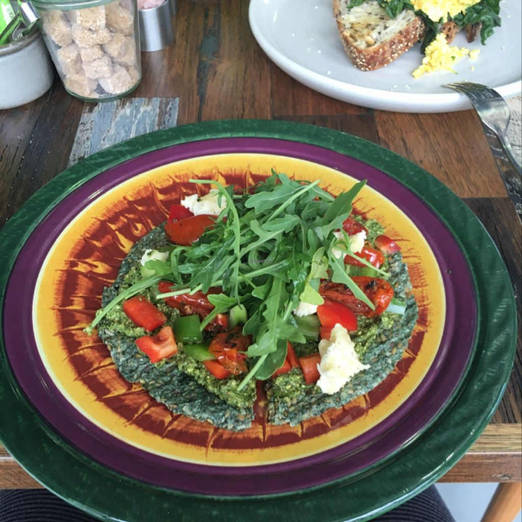 "Photo of Wholefood Merchants Kitchen  by <a href=""/members/profile/kateofearth"">kateofearth</a> <br/>raw Italian pizza <br/> January 23, 2016  - <a href='/contact/abuse/image/66926/133437'>Report</a>"