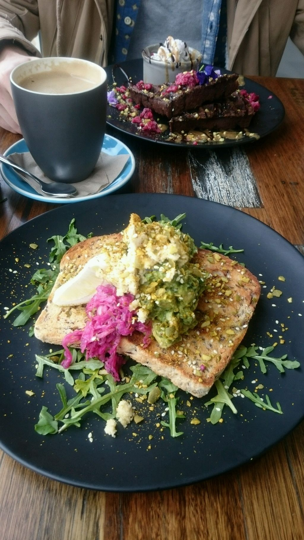 "Photo of Wholefood Merchants Kitchen  by <a href=""/members/profile/MoniqueFiedler"">MoniqueFiedler</a> <br/>Smashed Avo on toast  <br/> August 24, 2017  - <a href='/contact/abuse/image/66926/296540'>Report</a>"