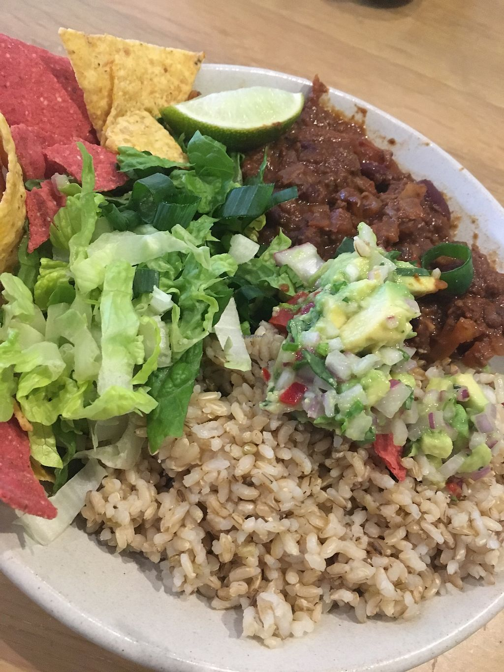 """Photo of Sprout Wholefood Cafe and Grocer  by <a href=""""/members/profile/Jennydegio"""">Jennydegio</a> <br/>Mexi bowl vegan option <br/> August 21, 2017  - <a href='/contact/abuse/image/66929/295402'>Report</a>"""