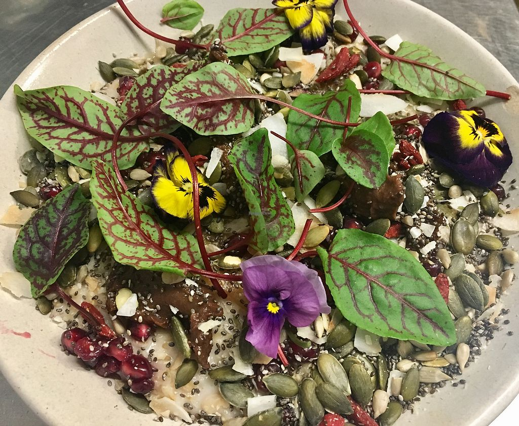 """Photo of Sprout Wholefood Cafe and Grocer  by <a href=""""/members/profile/Jennydegio"""">Jennydegio</a> <br/>GF porridge  <br/> August 22, 2017  - <a href='/contact/abuse/image/66929/295426'>Report</a>"""