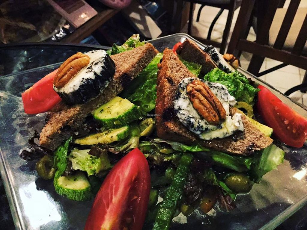 """Photo of Vieja Varsovia  by <a href=""""/members/profile/emma%20fabre"""">emma fabre</a> <br/>VEGETARIAN SALAD <br/> December 11, 2015  - <a href='/contact/abuse/image/66940/127971'>Report</a>"""