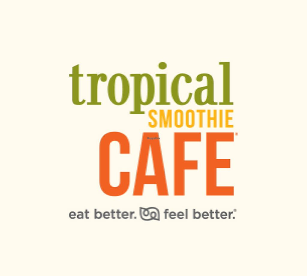 "Photo of Tropical Smoothie Cafe  by <a href=""/members/profile/mshelene"">mshelene</a> <br/>logo <br/> July 26, 2016  - <a href='/contact/abuse/image/66955/162479'>Report</a>"