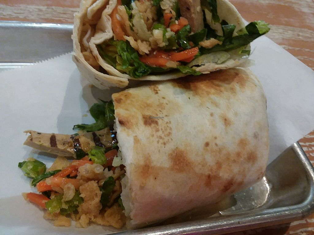 "Photo of Tropical Smoothie Cafe  by <a href=""/members/profile/mshelene"">mshelene</a> <br/>Thai chicken wrap with vegan chicken <br/> April 20, 2018  - <a href='/contact/abuse/image/66955/388716'>Report</a>"