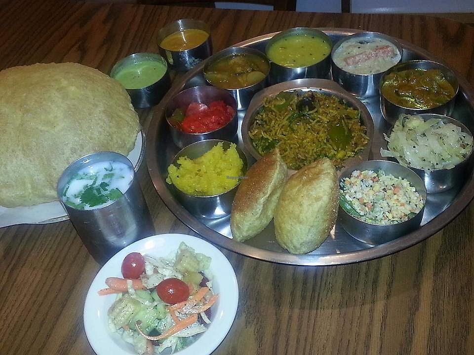 """Photo of Udipi Cafe - Hillcroft  by <a href=""""/members/profile/ChristineLee"""">ChristineLee</a> <br/>Buffet <br/> August 4, 2017  - <a href='/contact/abuse/image/6696/288489'>Report</a>"""