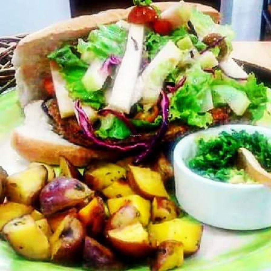 "Photo of CLOSED: QIWA Organic Store and Cafe  by <a href=""/members/profile/Marishita%20Amado"">Marishita Amado</a> <br/>Quinoa Burger.. it's really good!! <br/> December 14, 2015  - <a href='/contact/abuse/image/66978/128430'>Report</a>"