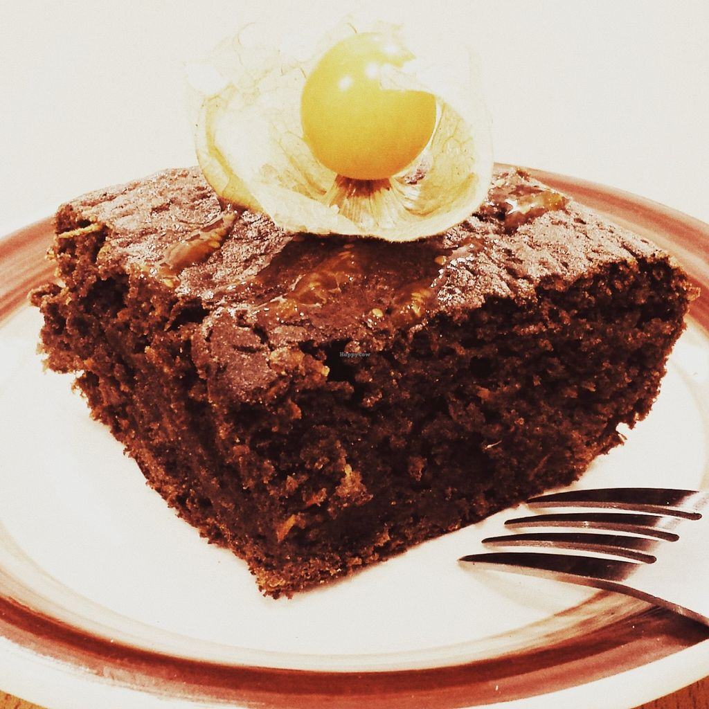 """Photo of CLOSED: QIWA Organic Store and Cafe  by <a href=""""/members/profile/Marishita%20Amado"""">Marishita Amado</a> <br/>Cañihua and Carrot cake.. Gluten Free! <br/> December 14, 2015  - <a href='/contact/abuse/image/66978/128431'>Report</a>"""