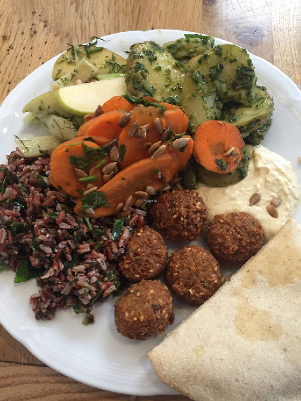 """Photo of RizRaz - Kompagnistraede  by <a href=""""/members/profile/americanvegan"""">americanvegan</a> <br/>lunch buffet <br/> October 2, 2016  - <a href='/contact/abuse/image/6697/229457'>Report</a>"""