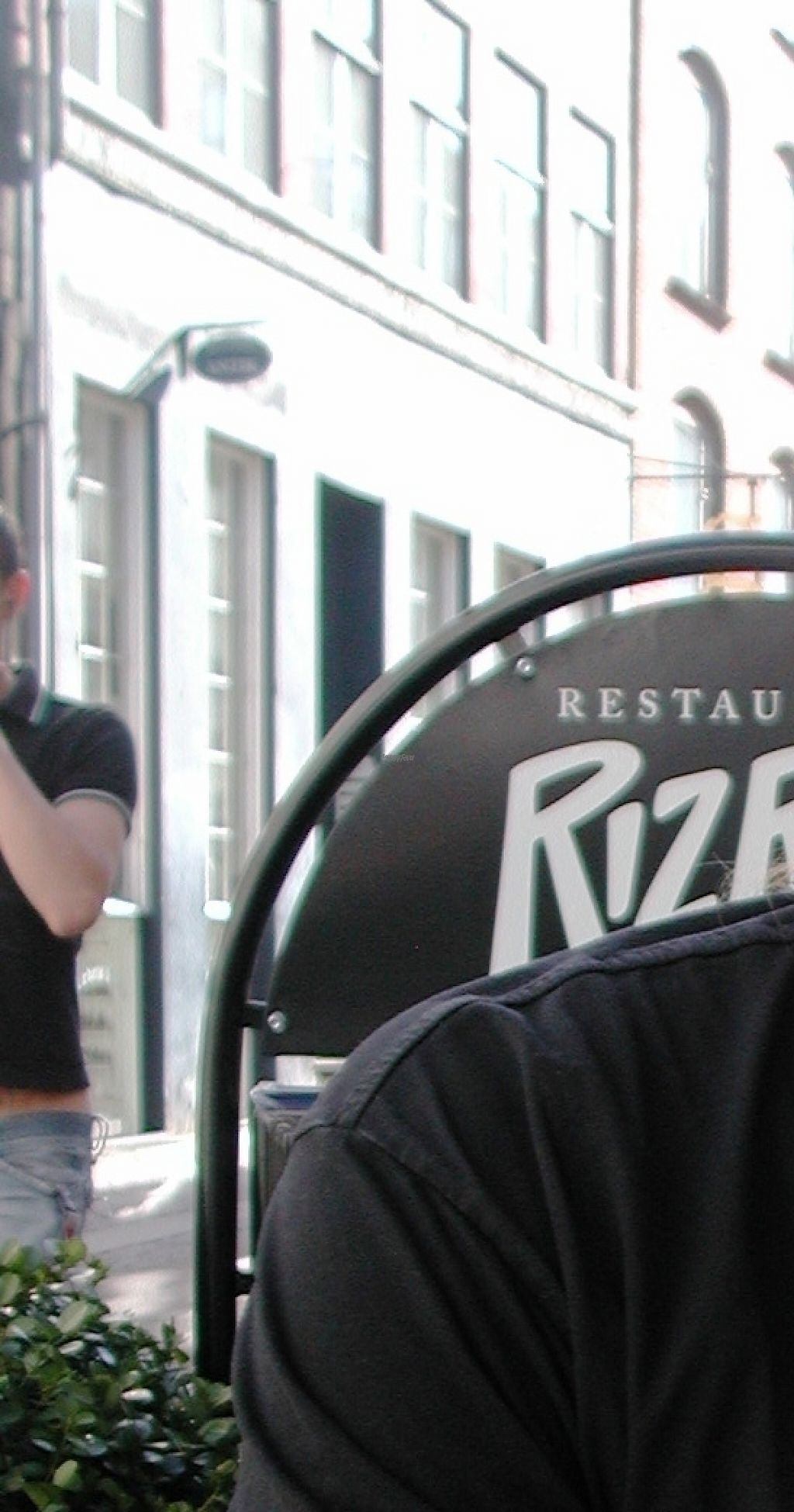 """Photo of RizRaz - Kompagnistraede  by <a href=""""/members/profile/Marie-Jeanne"""">Marie-Jeanne</a> <br/>The terrasse nicely located on a pedestrian street with bicycles.  It is nice looking at Danish people going on with their busy daily life <br/> March 28, 2017  - <a href='/contact/abuse/image/6697/242210'>Report</a>"""