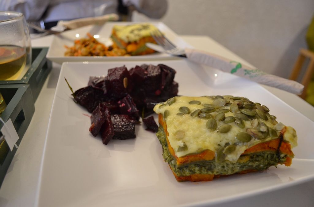 "Photo of CLOSED: Coffee of Philosophy  by <a href=""/members/profile/helc"">helc</a> <br/>Pumpkin Lasagna with Beetroot Salad <br/> June 23, 2016  - <a href='/contact/abuse/image/66985/155585'>Report</a>"
