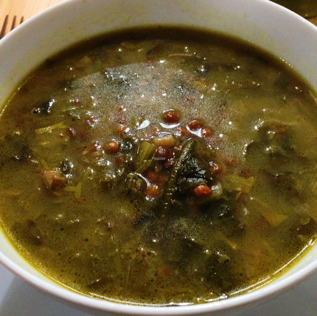 """Photo of A Factoria Verde  by <a href=""""/members/profile/Reyes"""">Reyes</a> <br/>kale lentil soup <br/> January 26, 2017  - <a href='/contact/abuse/image/66993/217595'>Report</a>"""