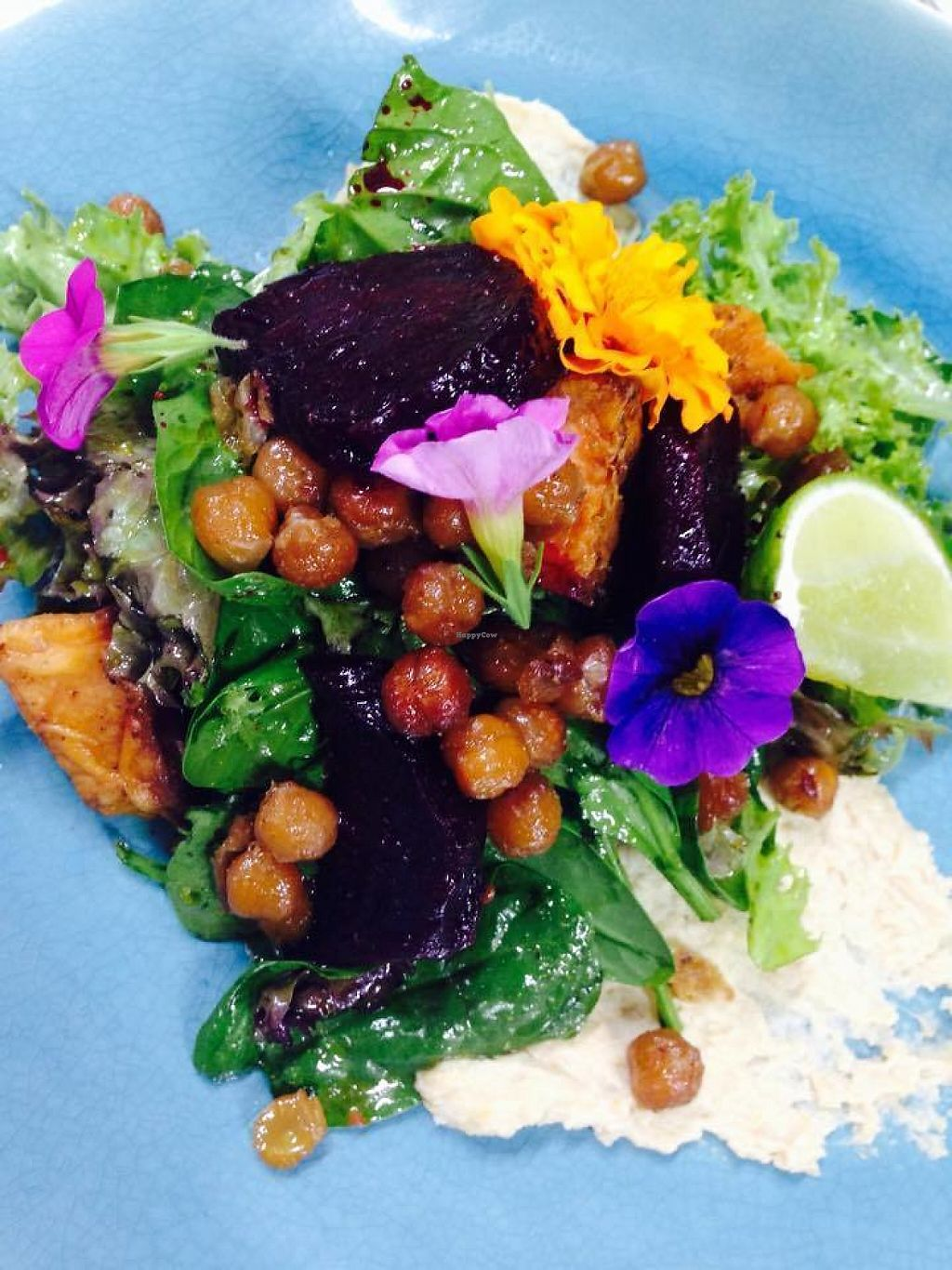 "Photo of What You Eat  by <a href=""/members/profile/whatyoueatcafe"">whatyoueatcafe</a> <br/>Roasted Sweet Potato and Beetroot Quinoa Salad with WYE's secret housemade dressing <br/> May 7, 2017  - <a href='/contact/abuse/image/66998/256581'>Report</a>"