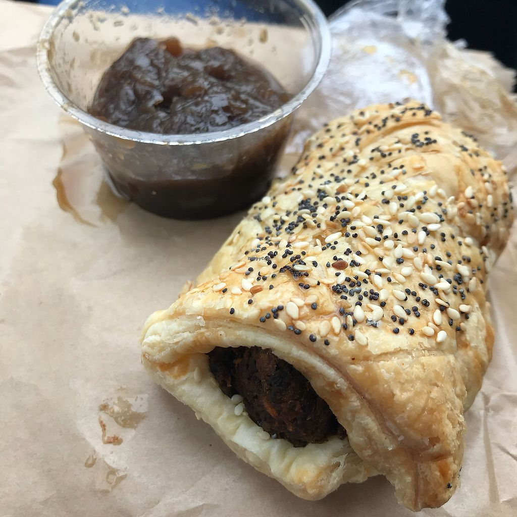"Photo of Sweet Beat Cafe  by <a href=""/members/profile/OrlaDonnelly"">OrlaDonnelly</a> <br/>Sausage roll with chutney <br/> May 15, 2018  - <a href='/contact/abuse/image/67016/400196'>Report</a>"