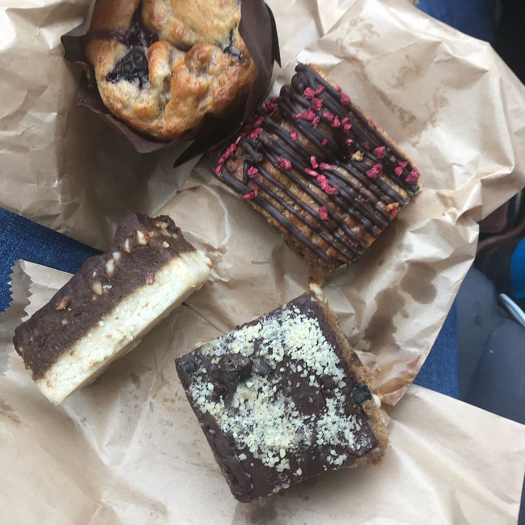 "Photo of Sweet Beat Cafe  by <a href=""/members/profile/OrlaDonnelly"">OrlaDonnelly</a> <br/>Blueberry and banana muffin, raspberry and chickpea blondie, caramel slice, s'nickers slice (starting at top clockwise) <br/> May 15, 2018  - <a href='/contact/abuse/image/67016/400197'>Report</a>"