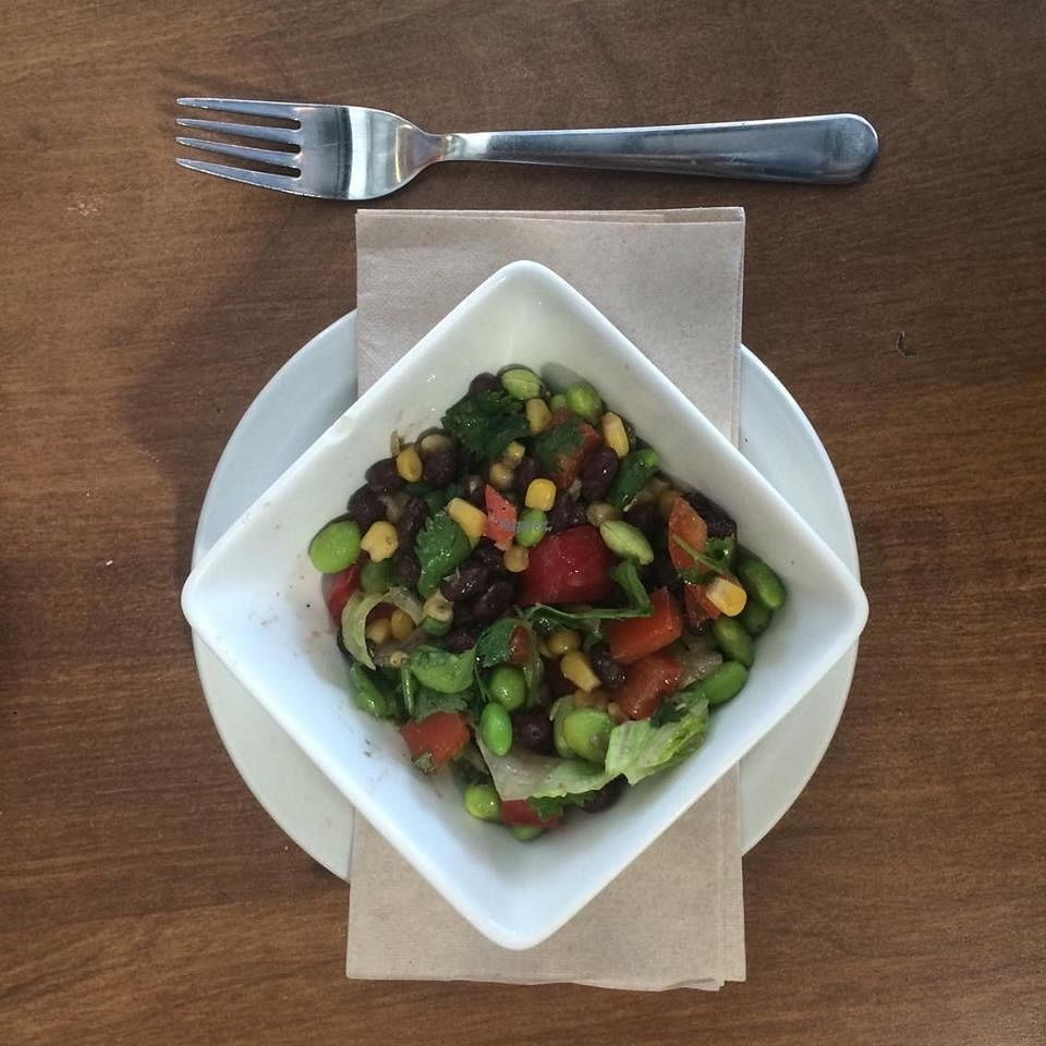 """Photo of Baguette & Chocolat  by <a href=""""/members/profile/BaguetteChocolat"""">BaguetteChocolat</a> <br/>Salade edamame Salad  <br/> September 26, 2016  - <a href='/contact/abuse/image/67034/177995'>Report</a>"""