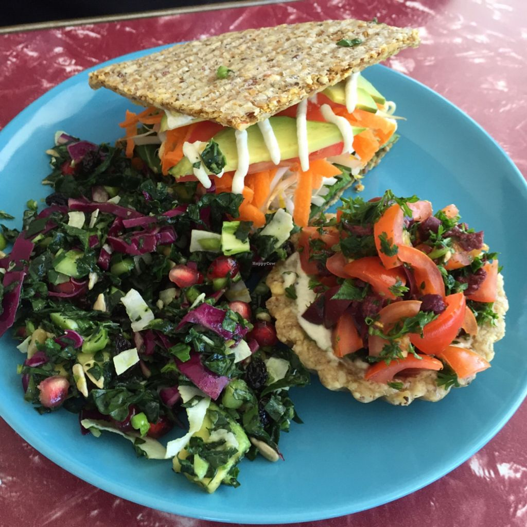 """Photo of Retro's Cafe 55  by <a href=""""/members/profile/mutant%20bean"""">mutant bean</a> <br/>raw food  <br/> December 16, 2015  - <a href='/contact/abuse/image/67037/128750'>Report</a>"""