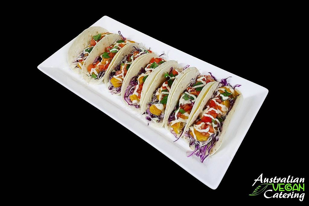 "Photo of Australian Vegan Catering  by <a href=""/members/profile/verbosity"">verbosity</a> <br/>Tacos <br/> May 16, 2018  - <a href='/contact/abuse/image/67048/400725'>Report</a>"