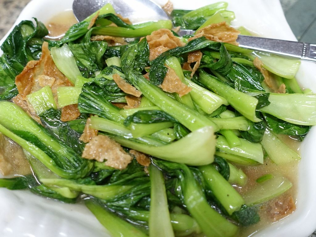 """Photo of Lanmadaw Vegetarian Restaurant  by <a href=""""/members/profile/JimmySeah"""">JimmySeah</a> <br/>stirred fried green vegetables <br/> December 21, 2015  - <a href='/contact/abuse/image/67062/129376'>Report</a>"""