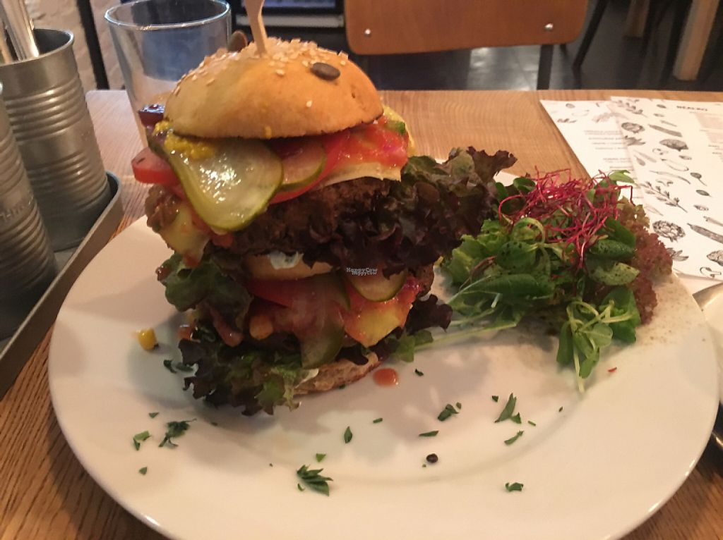 "Photo of Pastva  by <a href=""/members/profile/edwardbc"">edwardbc</a> <br/>huge burger !!! <br/> March 11, 2017  - <a href='/contact/abuse/image/67064/235028'>Report</a>"