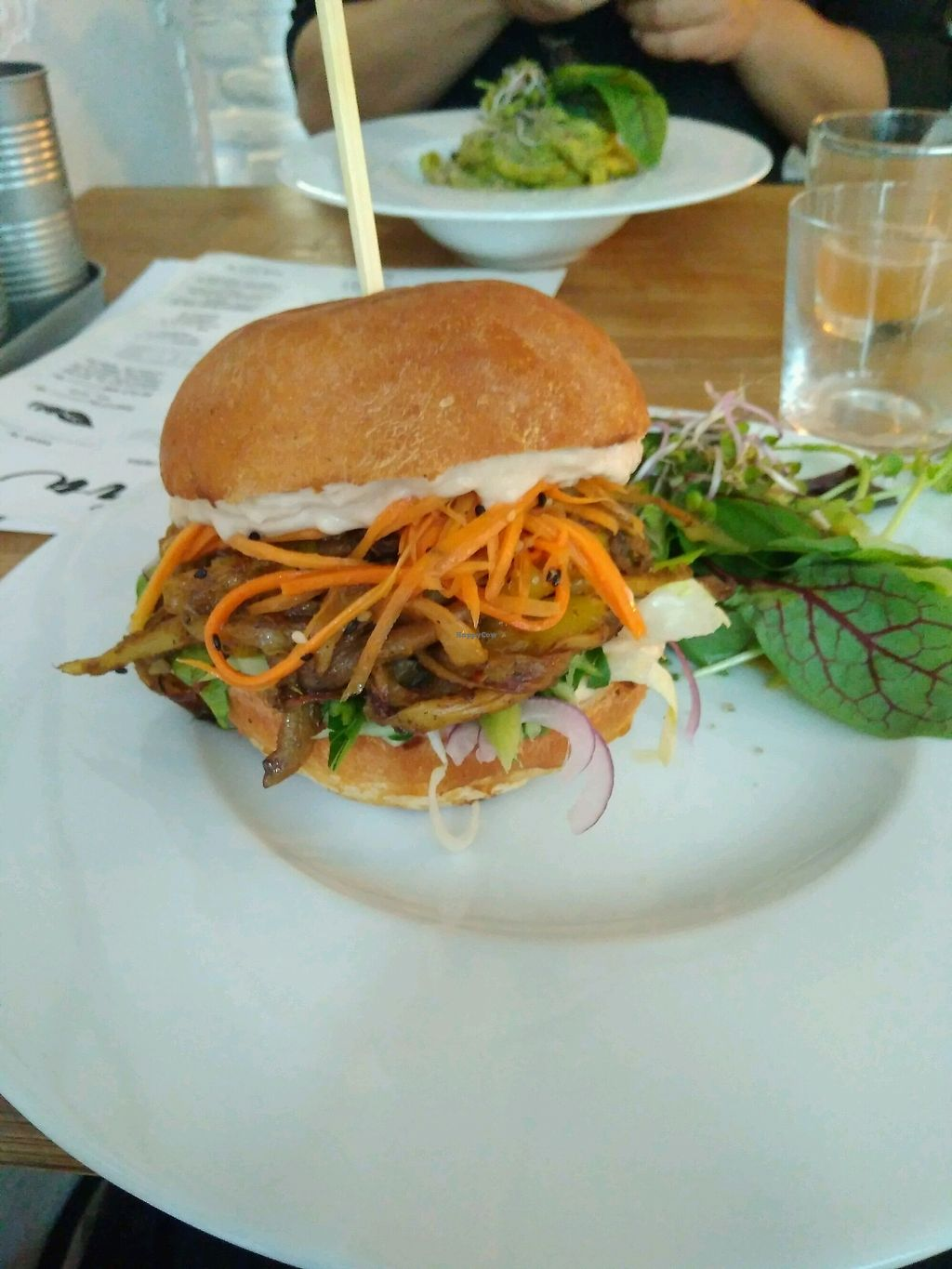 "Photo of Pastva  by <a href=""/members/profile/LCGHW"">LCGHW</a> <br/>jackfruit burger <br/> September 30, 2017  - <a href='/contact/abuse/image/67064/310144'>Report</a>"