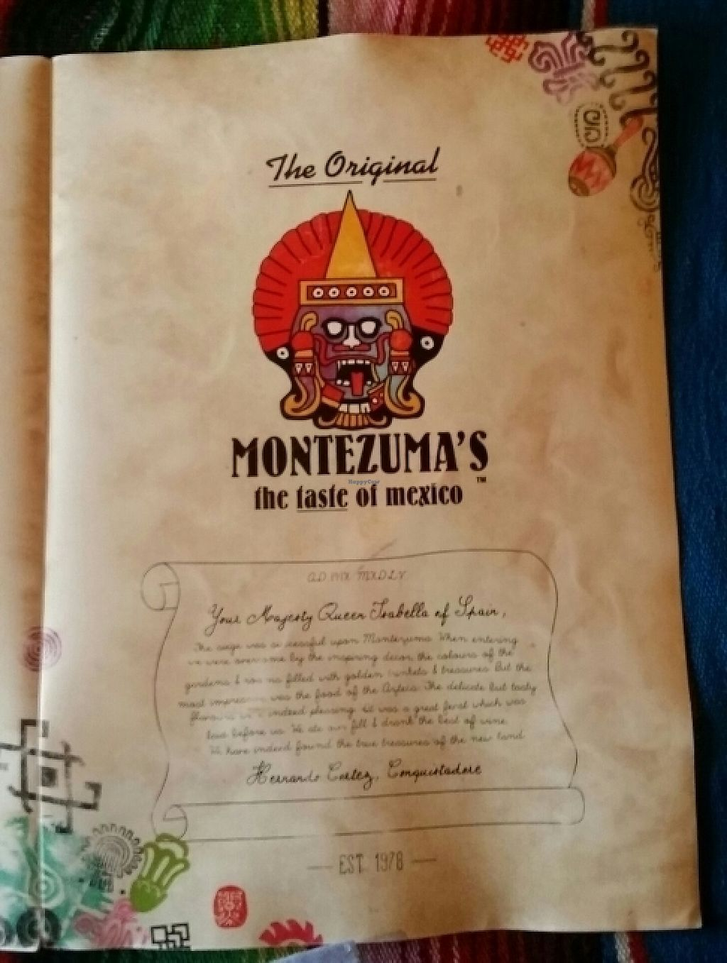 "Photo of Montezuma's  by <a href=""/members/profile/Mike%20Munsie"">Mike Munsie</a> <br/>menu 1 <br/> May 8, 2017  - <a href='/contact/abuse/image/67076/257033'>Report</a>"