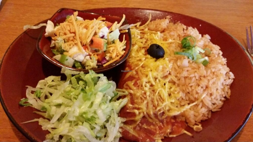 "Photo of Montezuma's  by <a href=""/members/profile/chelseyreid"">chelseyreid</a> <br/>vegan enchilada <br/> May 10, 2016  - <a href='/contact/abuse/image/67080/148291'>Report</a>"