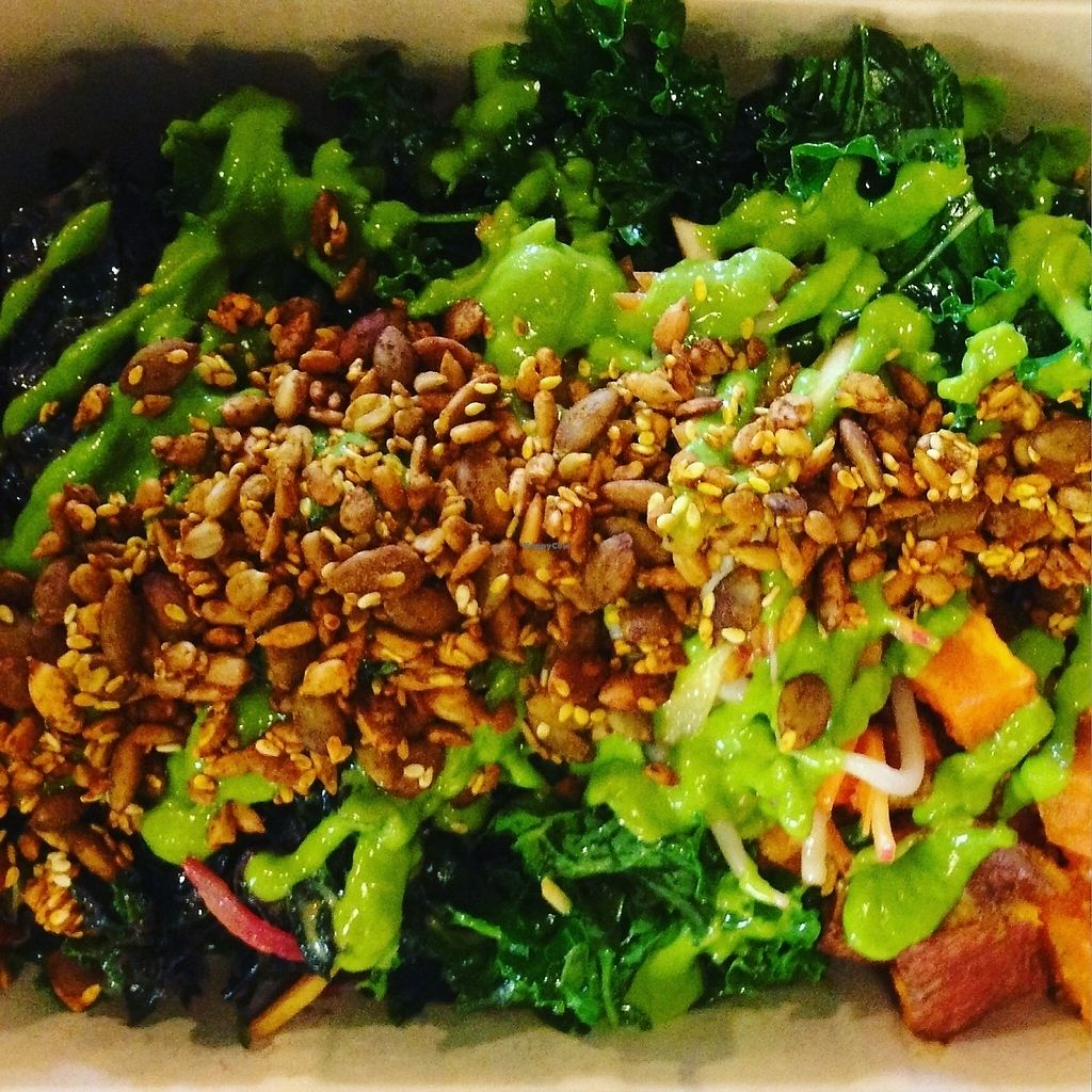 "Photo of Kindly Kitchen  by <a href=""/members/profile/Vegan%20Food%20Love"">Vegan Food Love</a> <br/>Salad Bowl <br/> April 2, 2016  - <a href='/contact/abuse/image/67098/213657'>Report</a>"