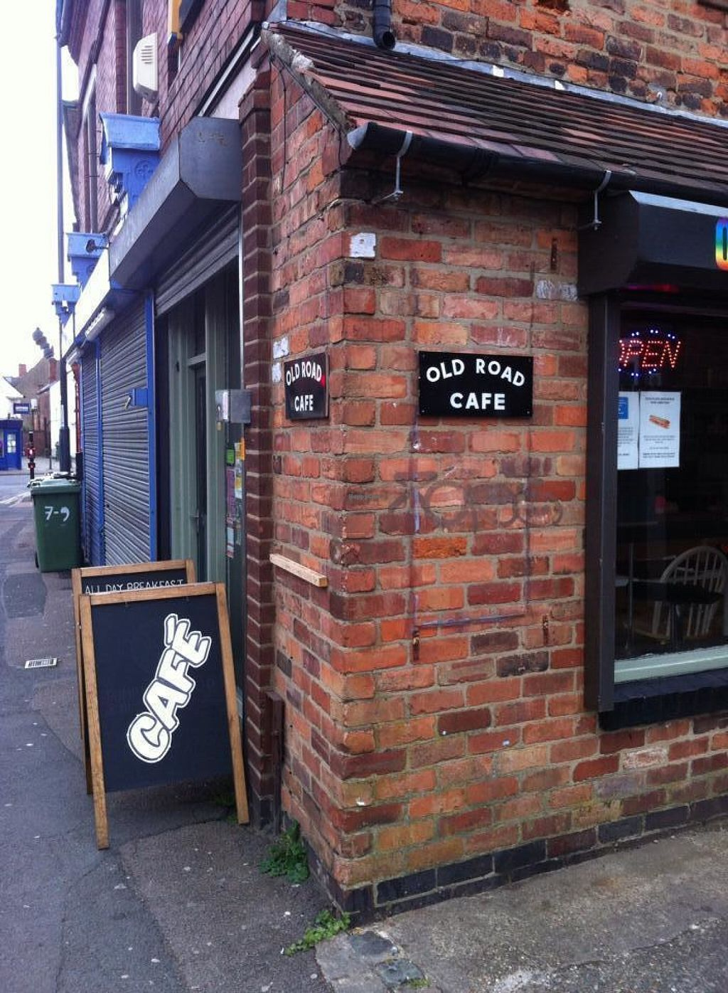 """Photo of Old Road Cafe  by <a href=""""/members/profile/Meaks"""">Meaks</a> <br/>Exterior <br/> July 30, 2016  - <a href='/contact/abuse/image/67101/163566'>Report</a>"""