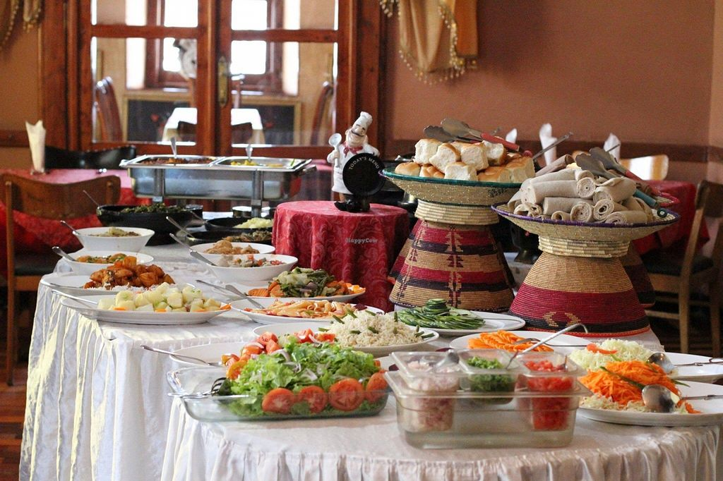 """Photo of Itegue Taitu Hotel  by <a href=""""/members/profile/Mesfin"""">Mesfin</a> <br/>Partial look of the table.  <br/> December 17, 2015  - <a href='/contact/abuse/image/67103/128781'>Report</a>"""