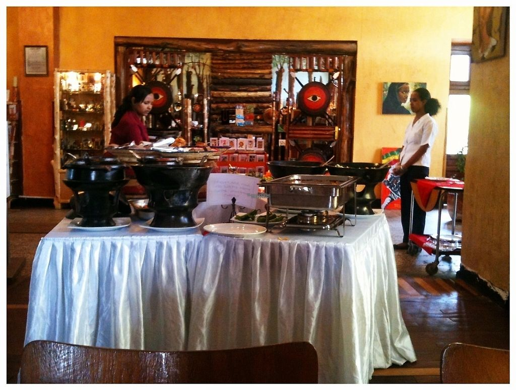 """Photo of Itegue Taitu Hotel  by <a href=""""/members/profile/SandyTatham"""">SandyTatham</a> <br/>Itegue Taitu Vegan Buffet <br/> February 1, 2017  - <a href='/contact/abuse/image/67103/220622'>Report</a>"""