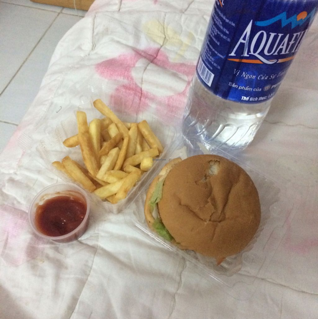 """Photo of City Fast Food  by <a href=""""/members/profile/Mitjacinda"""">Mitjacinda</a> <br/>burger and french fries <br/> May 8, 2017  - <a href='/contact/abuse/image/67105/257018'>Report</a>"""
