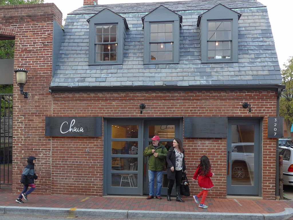 "Photo of Chaia  by <a href=""/members/profile/karl8704"">karl8704</a> <br/>The front door of Chaia, on Grace Street in Georgetown <br/> April 9, 2016  - <a href='/contact/abuse/image/67106/143699'>Report</a>"