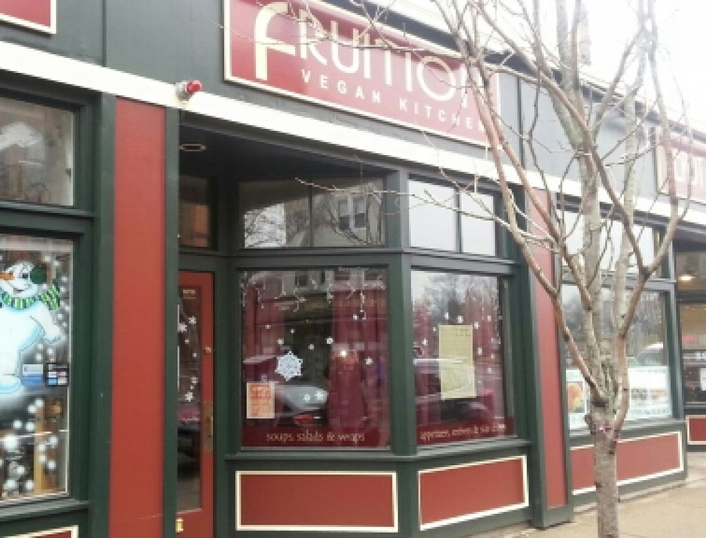 """Photo of Fruition Vegan Kitchen  by <a href=""""/members/profile/slithers"""">slithers</a> <br/>FVK storefront  <br/> January 9, 2016  - <a href='/contact/abuse/image/67115/131636'>Report</a>"""