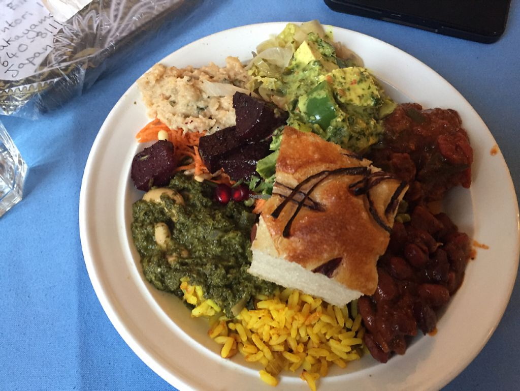 """Photo of Crunch Kantine  by <a href=""""/members/profile/Yasminesan"""">Yasminesan</a> <br/>hot food and salad buffet with homemade bread <br/> February 1, 2017  - <a href='/contact/abuse/image/67131/220533'>Report</a>"""