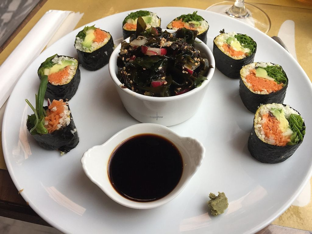 "Photo of Ecru  by <a href=""/members/profile/VictoriaGarafola"">VictoriaGarafola</a> <br/>Main course: sushi <br/> January 5, 2018  - <a href='/contact/abuse/image/67136/351666'>Report</a>"