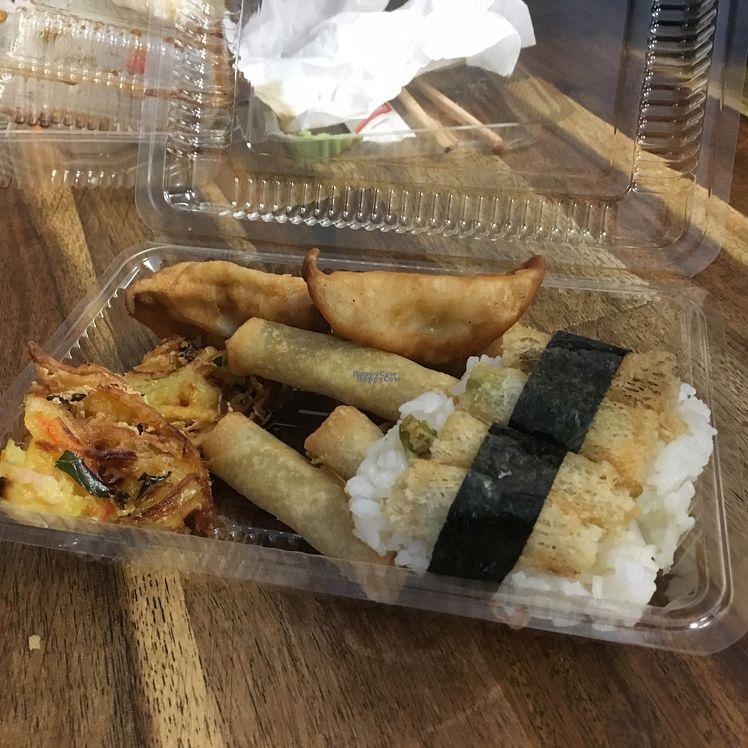 "Photo of Koi Sushi  by <a href=""/members/profile/Yolanda"">Yolanda</a> <br/>koi tempura and dumplings <br/> August 25, 2016  - <a href='/contact/abuse/image/67148/171332'>Report</a>"