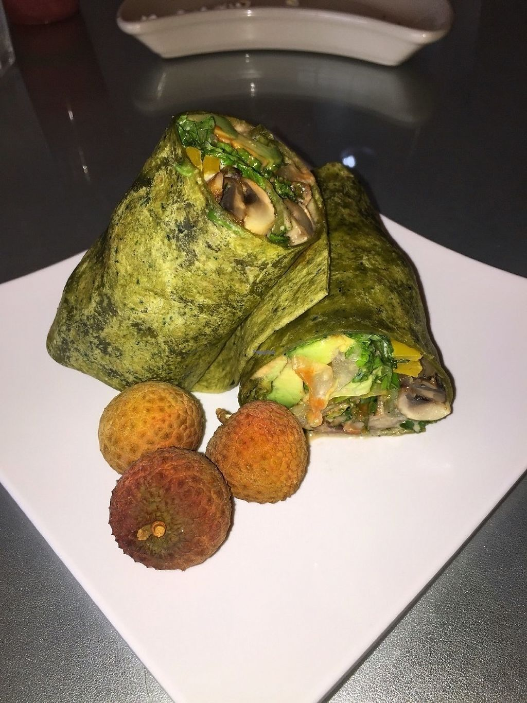 """Photo of Nokturne  by <a href=""""/members/profile/PlantPrincesa"""">PlantPrincesa</a> <br/>Veggie burrito, not too bad I've had better though <br/> December 30, 2016  - <a href='/contact/abuse/image/67157/206247'>Report</a>"""