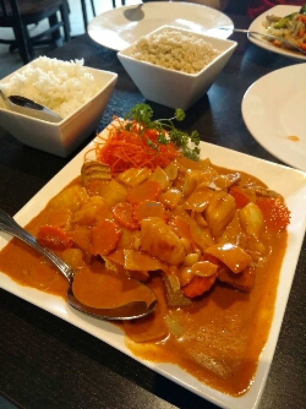 """Photo of Veganic Thai Cafe  by <a href=""""/members/profile/cranberries2"""">cranberries2</a> <br/>curry <br/> April 7, 2016  - <a href='/contact/abuse/image/67161/143284'>Report</a>"""
