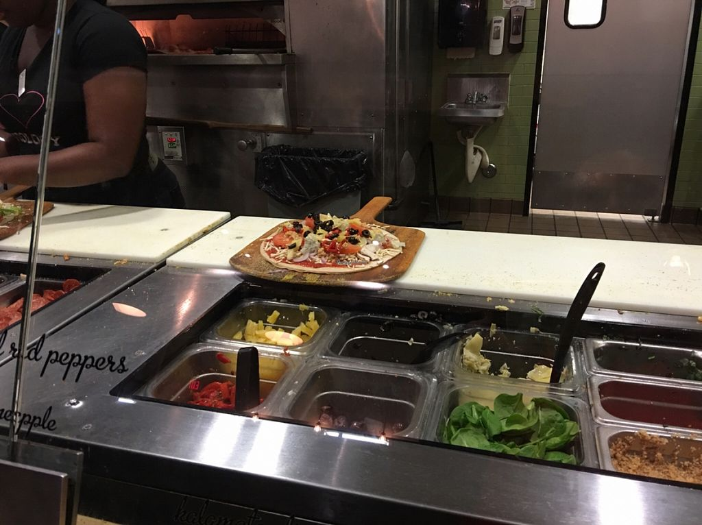 "Photo of Pieology  by <a href=""/members/profile/xmrfigx"">xmrfigx</a> <br/>after adding all my veggies! <br/> December 18, 2015  - <a href='/contact/abuse/image/67211/128985'>Report</a>"