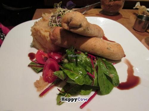 """Photo of Zest  by <a href=""""/members/profile/J-Veg"""">J-Veg</a> <br/>Wild mushroom in filo pastry with leek mash <br/> September 15, 2013  - <a href='/contact/abuse/image/6722/54916'>Report</a>"""