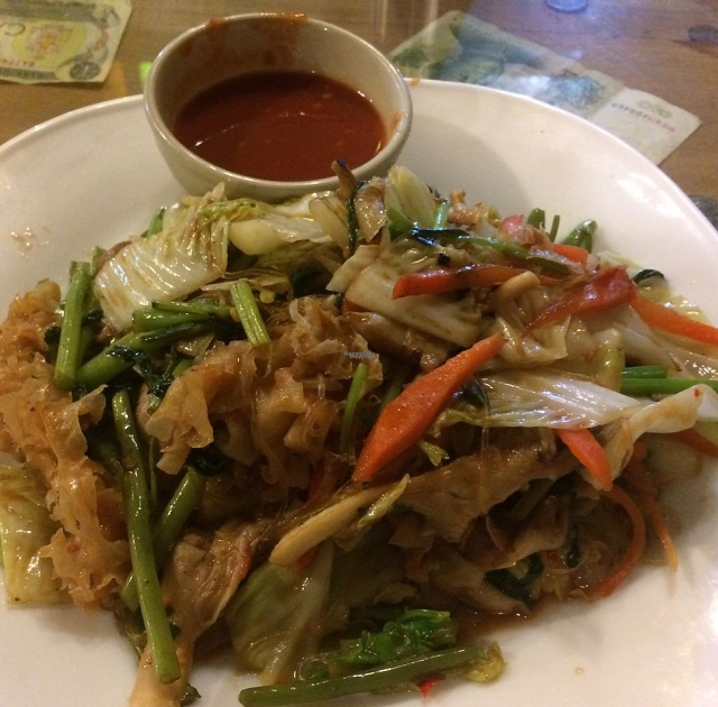 """Photo of Barrab  by <a href=""""/members/profile/FatTonyBMX"""">FatTonyBMX</a> <br/>Vegan fried noodles with vegetables and their spicy signature sauce.  <br/> January 19, 2017  - <a href='/contact/abuse/image/67252/213298'>Report</a>"""
