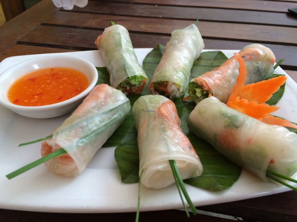 """Photo of Hai Cafe  by <a href=""""/members/profile/Siup"""">Siup</a> <br/>fresh spring rolls  <br/> December 18, 2015  - <a href='/contact/abuse/image/67257/128995'>Report</a>"""