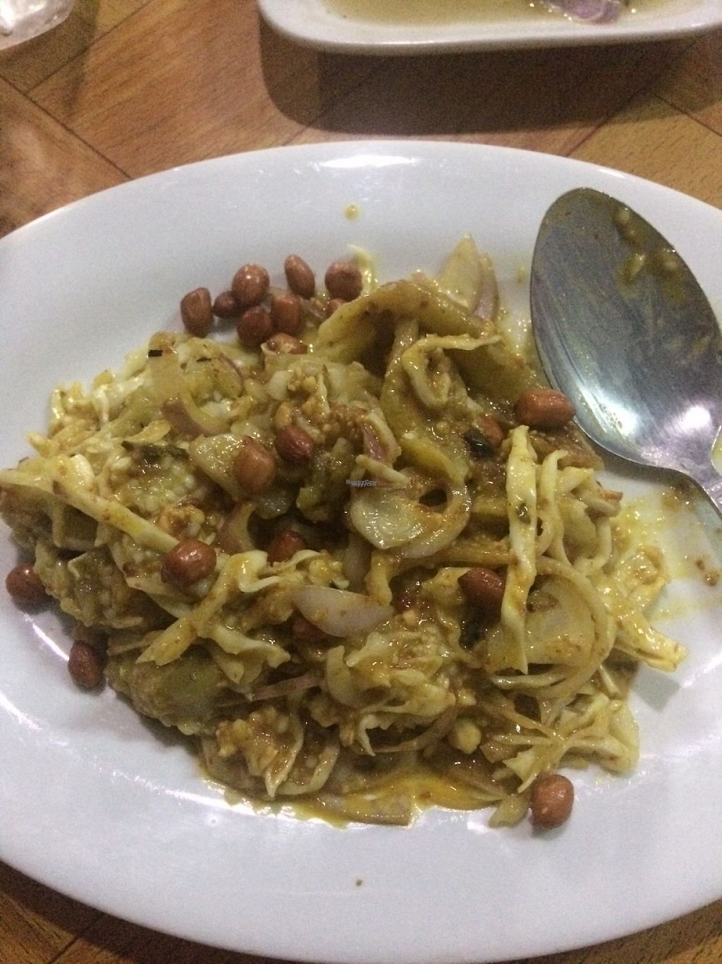 """Photo of Moe Pyae San Vegetarian Restaurant  by <a href=""""/members/profile/Cyclinggal"""">Cyclinggal</a> <br/>Special aubergines salad  <br/> March 29, 2017  - <a href='/contact/abuse/image/67267/242379'>Report</a>"""
