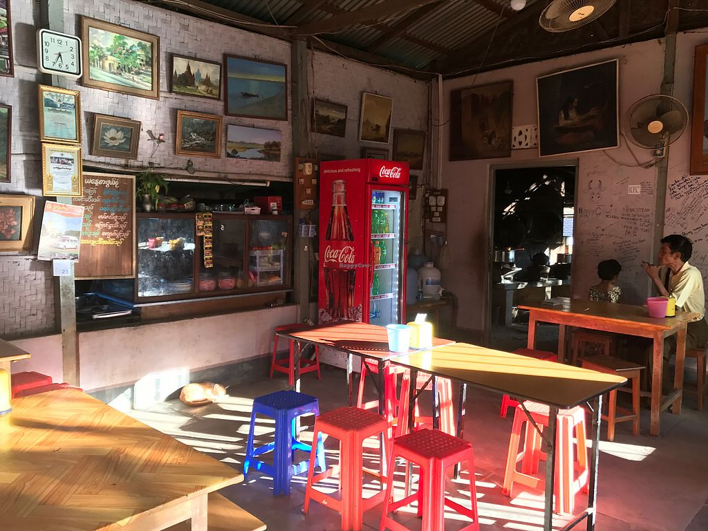 "Photo of Moe Pyae San Vegetarian Restaurant  by <a href=""/members/profile/SoniaGivray"">SoniaGivray</a> <br/>un lugar humilde como los precios <br/> June 29, 2017  - <a href='/contact/abuse/image/67267/274657'>Report</a>"