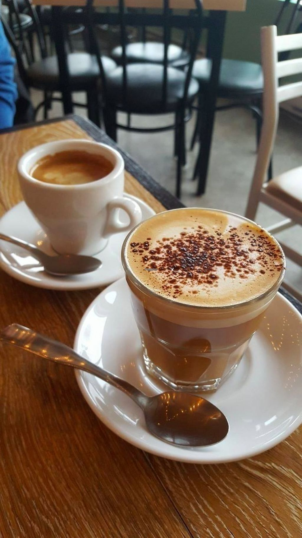 "Photo of Cafe Dei Campi  by <a href=""/members/profile/MrsPennyapple"">MrsPennyapple</a> <br/>Cafe latte and americano  <br/> December 29, 2016  - <a href='/contact/abuse/image/67269/205975'>Report</a>"