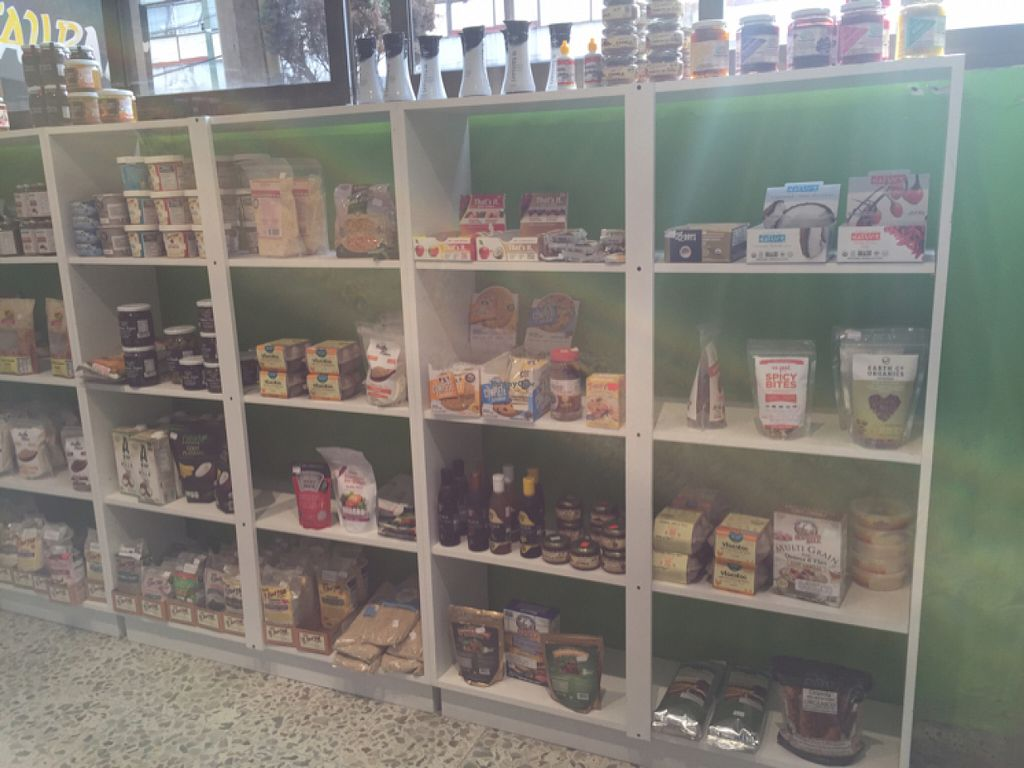 """Photo of Vegan Ville  by <a href=""""/members/profile/BrookeB"""">BrookeB</a> <br/>Vegan score! This is just a small portion of their offerings <br/> May 30, 2016  - <a href='/contact/abuse/image/67275/151362'>Report</a>"""