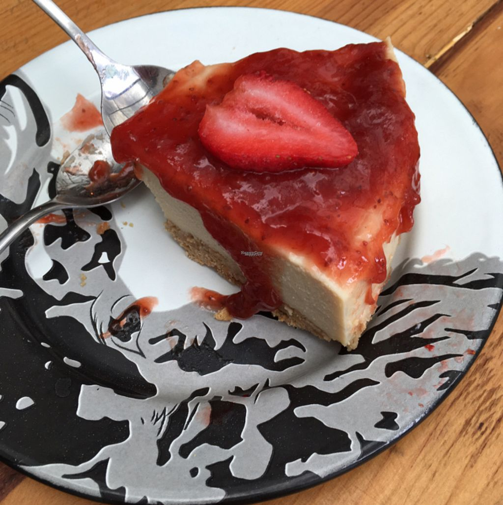 """Photo of Vegan Ville  by <a href=""""/members/profile/Sooz"""">Sooz</a> <br/>Tofu cheesecake! <br/> August 7, 2016  - <a href='/contact/abuse/image/67275/166698'>Report</a>"""