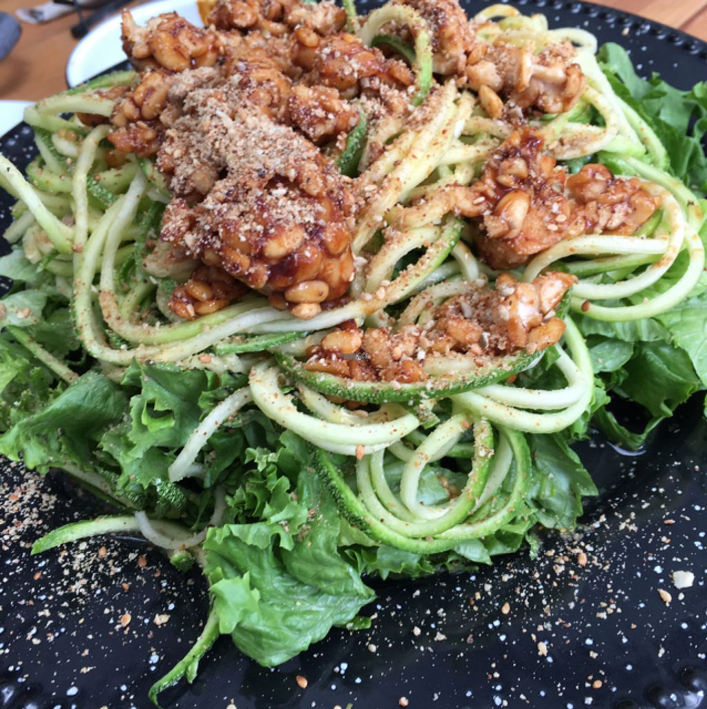 """Photo of Vegan Ville  by <a href=""""/members/profile/Sooz"""">Sooz</a> <br/>BBQ Tempah salad <br/> August 7, 2016  - <a href='/contact/abuse/image/67275/166699'>Report</a>"""