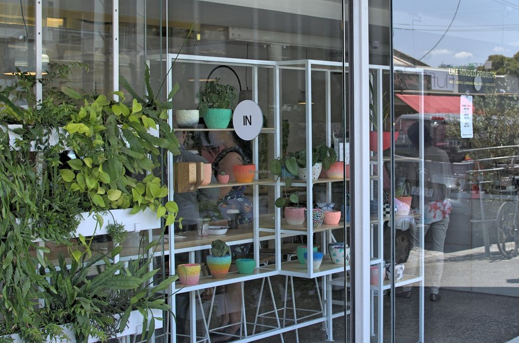 """Photo of CLOSED: Fred Gets at Like Minded Projects - maybe closed  by <a href=""""/members/profile/chocoholicPhilosophe"""">chocoholicPhilosophe</a> <br/>From the street Note the gold writing on the window is all the signage they have <br/> December 20, 2015  - <a href='/contact/abuse/image/67308/129334'>Report</a>"""