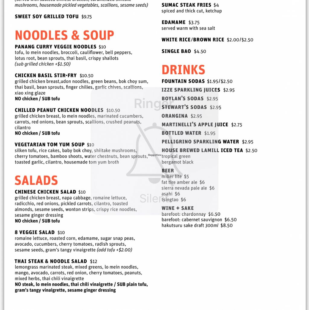 "Photo of CLOSED: Take a Bao  by <a href=""/members/profile/xmrfigx"">xmrfigx</a> <br/>Vegan menu shows tofu substitution options <br/> December 20, 2015  - <a href='/contact/abuse/image/67369/129285'>Report</a>"